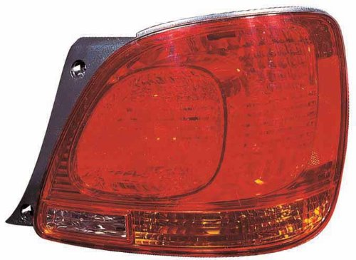 Depo 212-19J1R-AS Lexus GS 300//GS 350//GS 400//GS 430//GS 460 Passenger Side Tail Lamp Assembly with Bulb and Socket