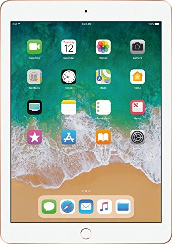 Apple iPad with WiFi (2018 Model) (128 GB, Gold)