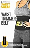 Sweet Sweat Premium Waist Trimmer, 1-size-fits-all. Includes Free Sample of Sweet Sweat Workout Enhancer! by Sports Research