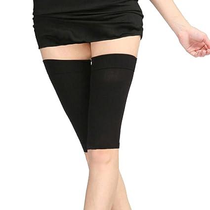 1ee5ce94e3b37 Divine Overseas 1 Pair Slim Weight Loss Leg Shaper Fat Burner Thigh Socks  Belt Shapewear  Amazon.in  Sports