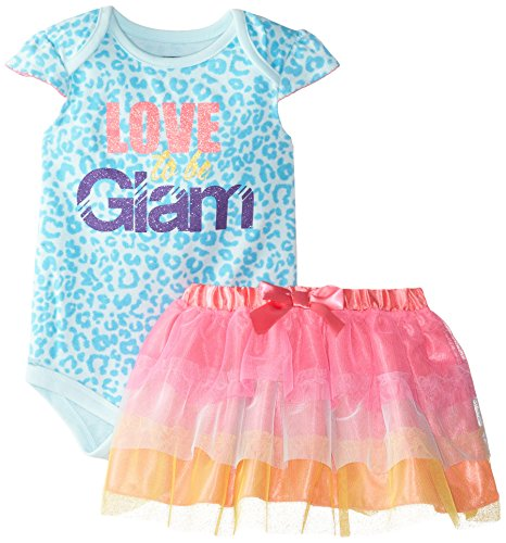 Baby Glam Baby Girls' Love To Be Glam Two-Piece Skirt Set