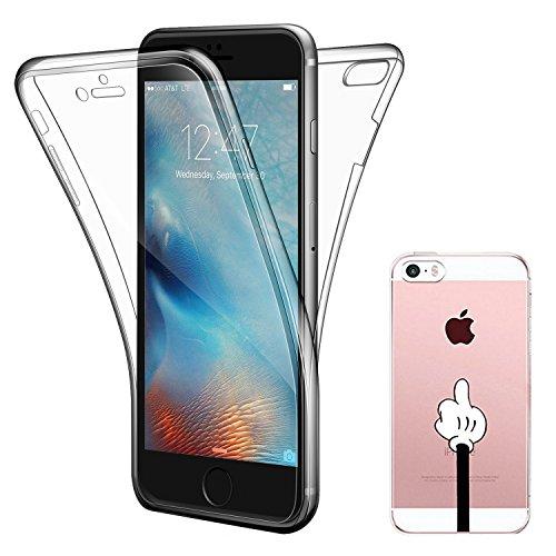 """iPhone 7 Hülle , ivencase iPhone 7 Soft Flex Silikon Handyhülle Ultra Dünn Schlank Bumper-Style Case Cover Kratzfest TPU , Komplettschutz Vorder und Rückseiten , für Apple iPhone 7 4.7"""""""