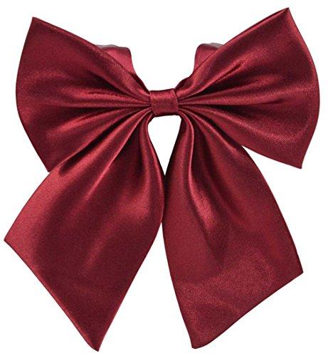 SYAYA Women Bowties Ladies Bow Tie Adjustable Neckwear Bowknot Party Wedding Necktie girl Ties Pre-tied Costume Accessory Pre Knotted WLJ01