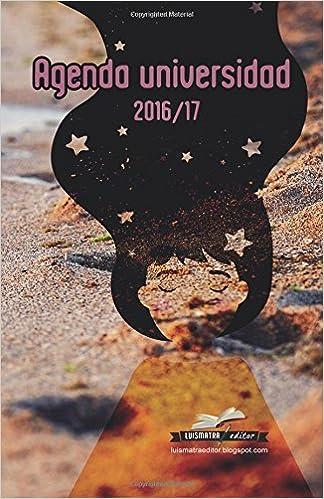 Agenda universidad 2016/17: interior color: Amazon.es ...