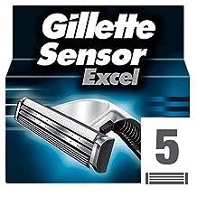 Gillette Sensor Excel Replacement Cartridges 5 Pack