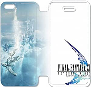 iPhone 5C Cell Phone Case Game Final Fantasy Colorful Printing Leather Flip Case Cover 3RTY499591