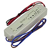 LEDwholesalers Constant Voltage Single Output Waterproof Switching Power Supply 24V, 60-Watt, 3281