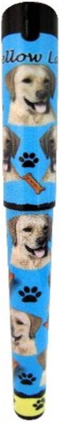 E&S Pets Yellow Lab Pen Easy Glide Gel Pen, Refillable with A Perfect Grip, Great for Everyday Use, Perfect Yellow Lab Gifts for Any Occasion