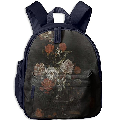 Camellia Painting Boys Girls Unique Backpack For Outdoors