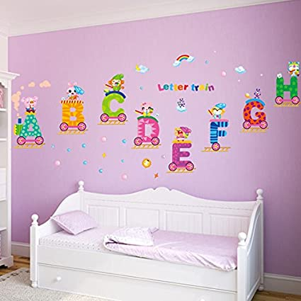 Amazon.com: Mr.S Shop Wall Sticker Fashion Removable 3d Children ...