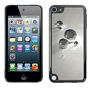 LASTONE PHONE CASE / Slim Protector Hard Shell Cover Case for Apple iPod Touch 5 / Abstract Diamond