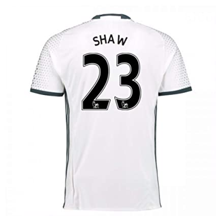 Image Unavailable. Image not available for. Color  2016-17 Man Utd Third  Football Soccer T-Shirt Jersey (Luke Shaw 23 0f5b2300f