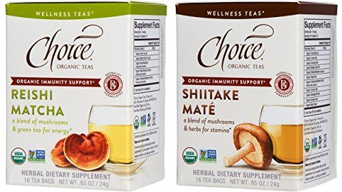 Which are the best choice shiitake turmeric tea available in