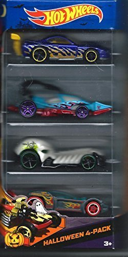 Hot Wheels 2013 Halloween Cars Target Exclusive 4 Pack Scary Cars by Hot Wheels: Amazon.es: Juguetes y juegos