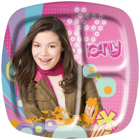 iCarly Pocket Dinner Plates (8 count) -
