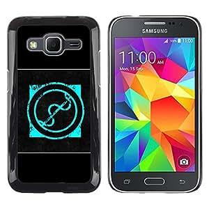 iKiki Tech / Estuche rígido - quake railgun logo logotip - Samsung Galaxy Core Prime SM-G360