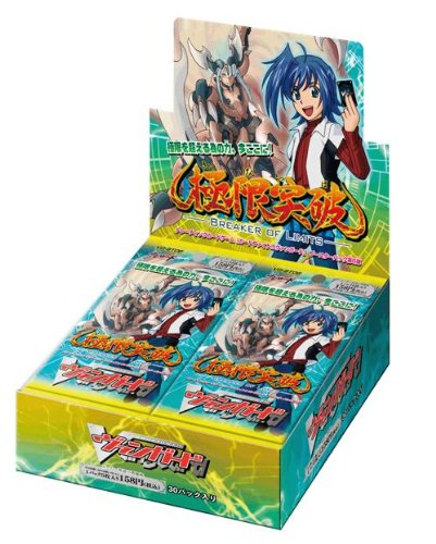 CARDFIGHT!! Vanguard Japanese Booster Box Vol.6 BT06 Sealed Box