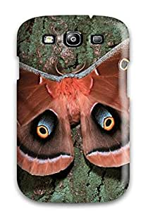 New Style 4384238K74605167 New Arrival Galaxy S3 Case Polyphemus Moth Case Cover
