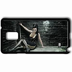 Personalized Samsung Note 4 Cell phone Case/Cover Skin Amy Lee 33129 Black