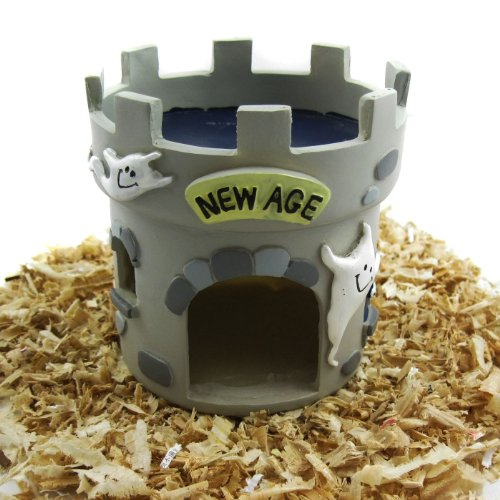 Alfie Pet by Petoga Couture – Castle Hideout Hut for Small Animals like Dwarf Hamster and Mouse