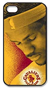icasepersonalized Personalized Protective Case for iPhone 4/4S - Lebron James, NBA Cleveland Cavaliers