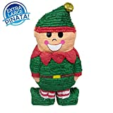 Christmas Elf Pinata, 31'' Decoration, Party Game and Photo Prop
