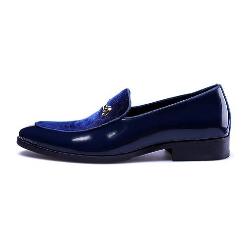 Zapatos de Vestir de Negocios para Hombres Moda Cuero Primavera y otoño Zapatos Oxford Novios Zapatos de Boda de Gran tamaño 48