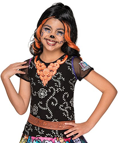 Rubie's Costume Monster High Skelita Calaveras Photo Real Costume Top Costume, Standard -
