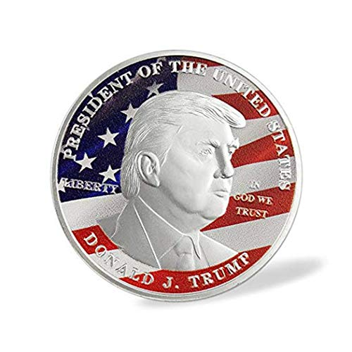American Symbol Eagle Donald Trump Silver Commemorative Novelty Gift Coins ()