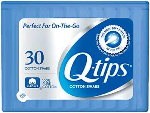 Q-tips Swabs Travel Pack,30 Count, Pack of 1