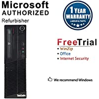 2018 Lenovo ThinkCentre M73 Small Form Business High Performance Desktop Computer PC (Intel Core I5-4570 3.2G,8G RAM DDR3,240GB SSD,DVD-ROM,WIFI, Windows 10 Professional)(Certified Refurbished)