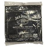 Jack Daniel Black Vinyl Air Hockey Table Cover