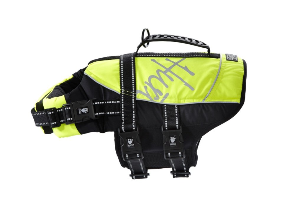 0-10LB Hurtta HU930645 Pet Collection Life Jacket, 0-10-Pound, 12-15-Inch Neck, 14-19-Inch Chest, Yellow