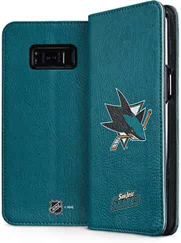 e6741e41973 San Jose Sharks Galaxy S8 Plus Case - San Jose Sharks Distressed | NHL &  Skinit