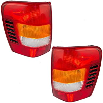 Amazon.com: Jeep Grand cherokee Replacement Tail Light embly ... on