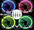 GlowPRO Bike Tire LED Valve Stem Caps Light - Dazzling Neon Colors are Best Night Safety Reflective Gear. Illumination Gives High Visibility for Motorcycles, Cyclists and Child Safety