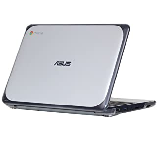 """mCover iPearl Hard Shell Case for 11.6"""" ASUS Chromebook C202SA Series Laptop - Clear"""
