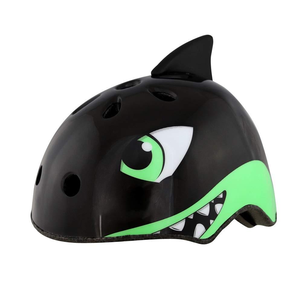 キッズヘルメット 子供用自転車ヘルメットキッズプロテクター(頭囲5054cm、M 5458cm用)調節可能な超軽量高通気性自転車サイクリング保護 (Color : Pattern-06)   B07NR425P9
