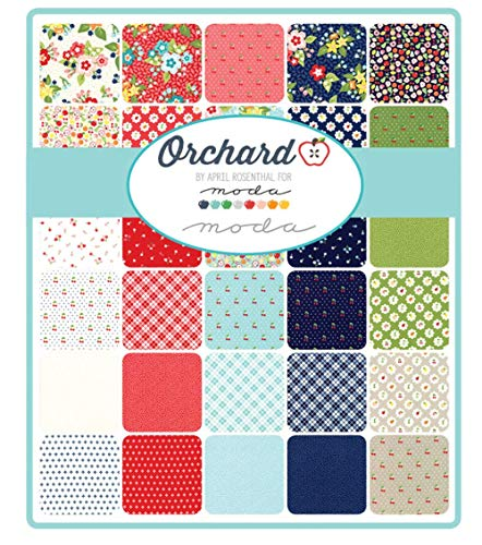 Orchard 32 Fat Quarter Bundle by April Rosenthal for Moda Fabrics 24070AB by Moda Fabrics (Image #1)