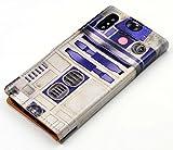 TPACC iphone X Case - Unique R2D2 Robot Pattern