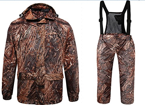 DaMaiZhang Hunting Fishing Camo Suits Camouflage Clothing Winter Autumn Down Coat Jacket (M) (L) from DaMaiZhang