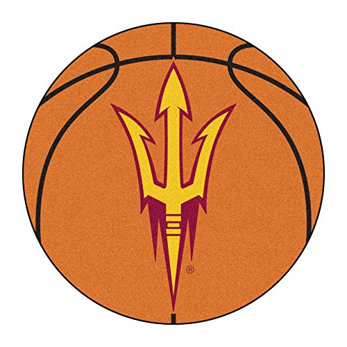 FANMATS 17144 Arizona State University Basketball Mat