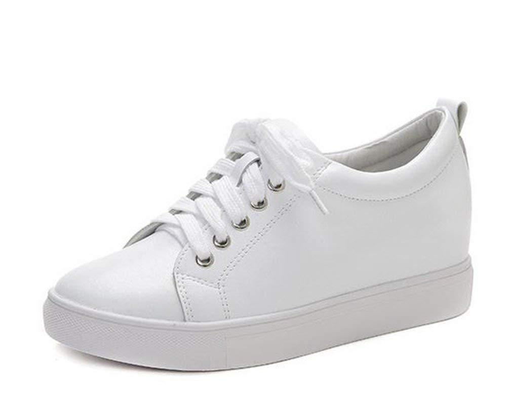 Oudan die Schuhe von Leder (Farbe    Weiß, Größe   (Farbe 35) 7ff520