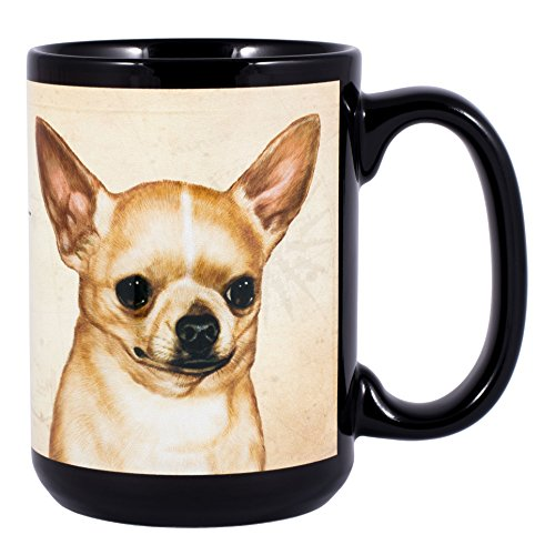 Chihuahua Dog Breed Traits Ceramic Stoneware 15 Ounce Mug ()