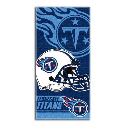 NFL Tennessee Titans Double Covered Beach Towel, 28 x 58-Inch