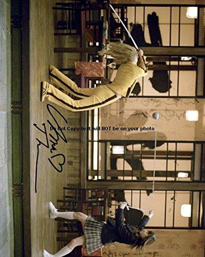 Uma Thurman Kill Bill Autographed Preprint Signed 11x14 Poster Photo (Bill Uma Thurman Photo Kill)