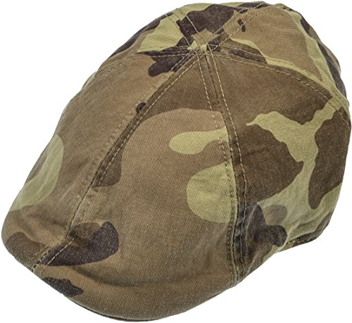 Camo Driver Hat (Hand By Hand Aprileo Newsboy Hat Denim Gatsby Cap Ivy Flat Driving Cotton Cabbie [Camouflage.](Large/X-Large))