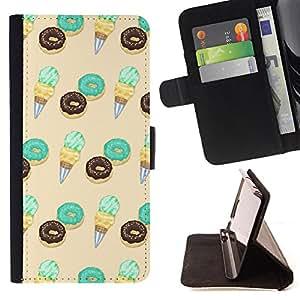King Case - FOR Samsung Galaxy S3 III I9300 - treat the life - Prima caja de la PU billetera de cuero con ranuras para tarjetas, efectivo Compartimiento desmontable y correa para la mu?eca