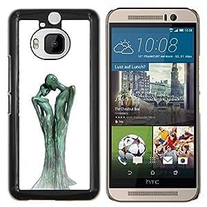 LECELL--Funda protectora / Cubierta / Piel For HTC One M9Plus M9+ M9 Plus -- Figura Estatua Arte Hombre Mujer --