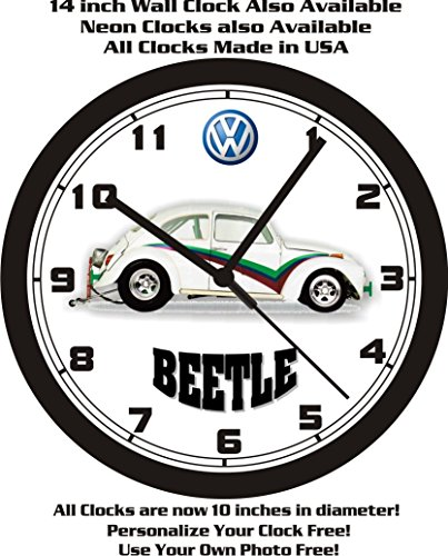 1965-volkswagen-beetle-v8-race-car-wall-clock-free-usa-ship